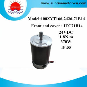 100zyt166-2426-71b14 24VDC 1.8n. M 370W DC Motor for Pump pictures & photos