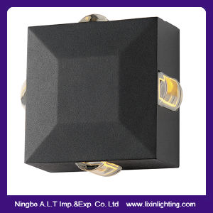 IP54 Square LED Wall Lamp with Four Lighting Direction for Decoration pictures & photos