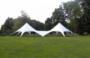Upal Outdoor Star Tent with White Different Color for Sale pictures & photos