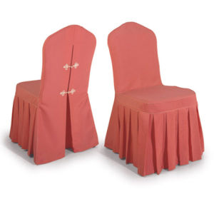 Restaurant Chair Cover with Ruffled (DPFR80134) pictures & photos