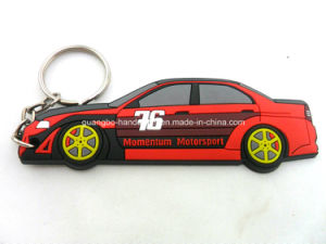 New Hot Custom Rubber Key Ring pictures & photos
