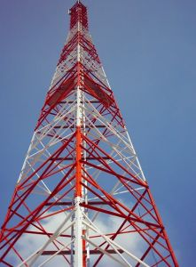 80 Meter Communication Steel Tower Manufacturer for Tanzania