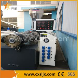 Plastic Machine PVC Pipe Conical Twin Screw Extruder Ce pictures & photos
