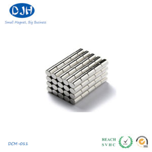 N35 Permanent Sintered Cylinder NdFeB Magnet pictures & photos