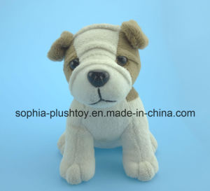 15cm Soft Stuffed Plush Dog Toy as Chiidren′s Gift pictures & photos