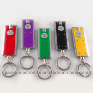 Hot Sell LED Keychain Flashlight with Logo Print (3672) pictures & photos