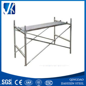 Powder Coated Light Duty Mobile Frame Scaffolding pictures & photos