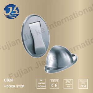 304 Stainless Steel Solid Casting Floor Door Stop (C820)