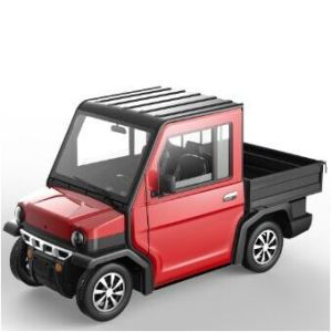 Short Cargo Electric Mini Vehicle with 2 Seater pictures & photos