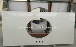 Pure White Quartz Stone Table Top Wholesale Prefab Quartz Countertops