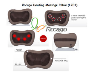 Rocago Office Leisure Product Heating Massage Pillow pictures & photos
