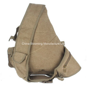 Shoulder Single Strap Cross Chest Crossbody Canvas Sling Bag pictures & photos