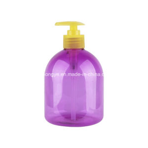 Pet Plastic Hand-Washing Pressure Lotion Pump Bottle Made in China pictures & photos
