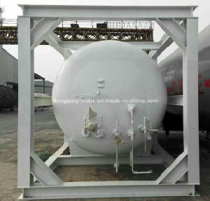 20FT/0.7MPa LNG ISO Tank Container ASME pictures & photos