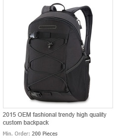 OEM Fashional Trendy High Quality Custom Backpack