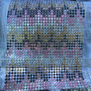 Custom Designed Crystal Mesh Roll for Dress Adornment pictures & photos