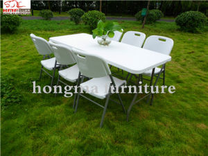 6ft Plastic Easy Folding Table (HM-FH180) pictures & photos