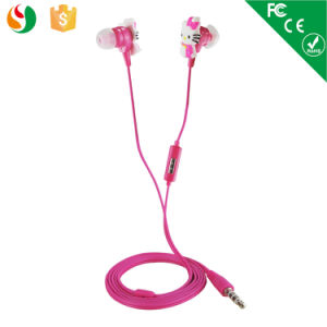 Animal Earbuds Cute Hello Kitty Earphone Headphone pictures & photos
