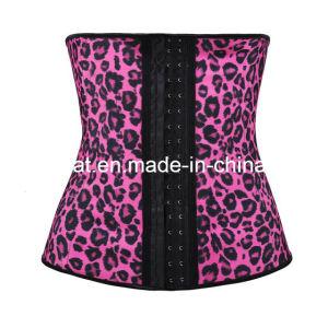 Leopard Women Latex Corset pictures & photos