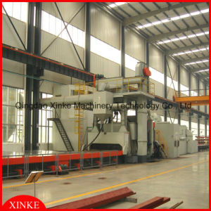 Hot Sale Structural Parts Shot Blasting Machine with Coating Film pictures & photos
