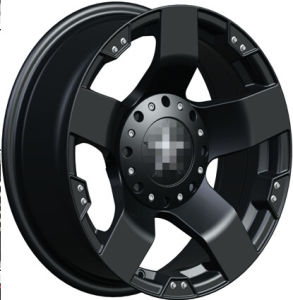 Matt Black 6X139.7 Alloy Wheel for Car pictures & photos