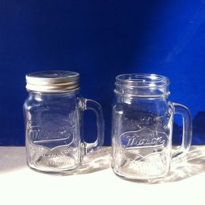 New Design Mason Jar with Tinplate Lid