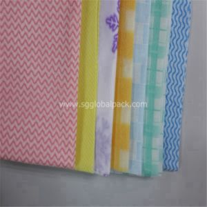 Printed Raw Material Spunlace Non Woven Fabric pictures & photos