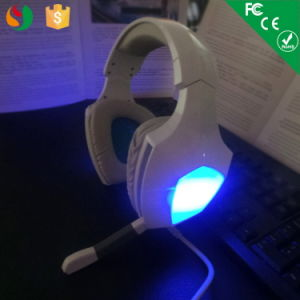 Wried USB Gaming Headset LED Headphone for Computer pictures & photos