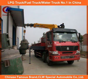 Heavy Duty 16 Tons Hydraulic Telescopic Boom Truck Mounted Crane pictures & photos