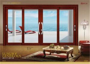 Aluminum Sliding Door Entry Door for House pictures & photos