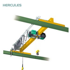 Henan Double Girder Overhead Bridge Crane 20 Ton Machinery pictures & photos