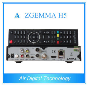 Broadcasting Equipment Hevc Decoder DVB S2 DVB T2 DVC C Zgemma H5 pictures & photos