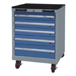 Westco Mobile Cabinet with Drawers (Workshop Trolley, Rolling Cabinet, MDC-0800-5)