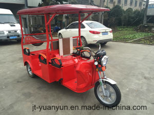 Electric Leisure Tricycle with 4 Passenger Seats pictures & photos