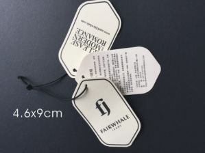 Fashion Customized Eco-Friendly Hang Tag