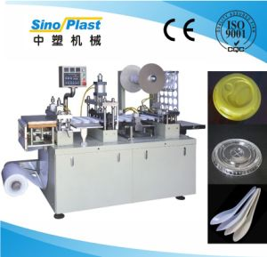 CE Certification High Quality Ice Cream Cup Lid Making Machine