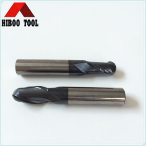 HRC50 Carbide Ball End Mill with Tialn Coating pictures & photos