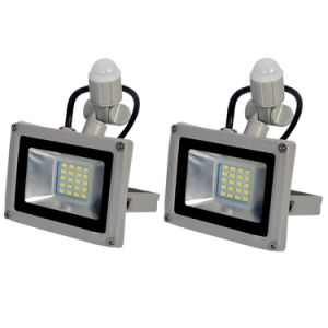 Cool White 20W LED Floodlight Lamp Outdoor IP65 PIR Motion Sensor 220-240V pictures & photos