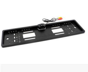 European Foreign Trade License Plate Frame with Lamp on-Board Camera with Four LED Lights pictures & photos
