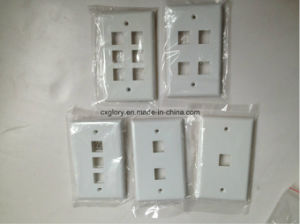 Rj11 Face Plate 1 Port 120 Type pictures & photos