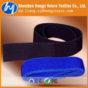 Reusable Styles Hook and Loop Elastic Velcro Band pictures & photos