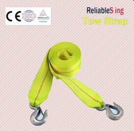 En 12195-2 Polyester Towing Belts with Forged Hook pictures & photos
