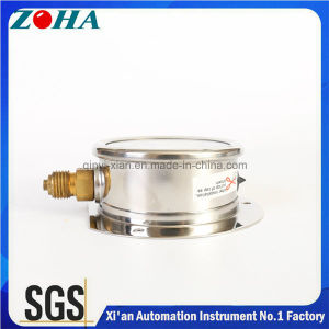 Corrosion Resistant Manometers with Oil Filled and Flange pictures & photos