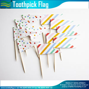 Cupake Picks Decoration Toothpick Flag for Party (M-NF29F14033) pictures & photos