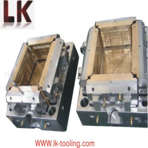 High Grade Basket Plastic Injection Tooling Mould pictures & photos