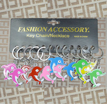 Keychain with Fish Logo/Metal Fish Keychain/Fish Shaped Keychain pictures & photos