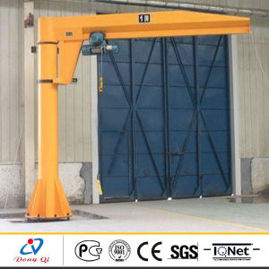 360 Degree Rotation Floor Mounted Shop Crane