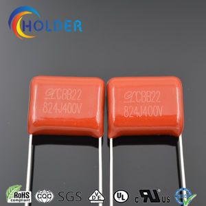 Metallized Ploypropylene Film Capacitor (CBB22 824J/400V) pictures & photos