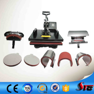CE Approved Manual Multifunction Combo 8 in 1 Heat Press Machine Stc-SD08 pictures & photos