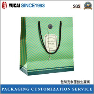 210g Ivory Board Green Paper Bag pictures & photos